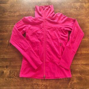 Lululemon Om Jacket neon pink